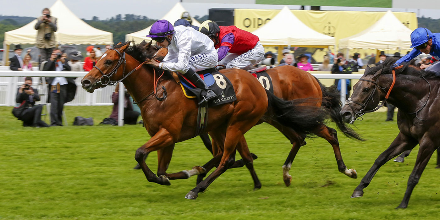 Prince Of Lir winning the G2 Norfolk Stakes at Royal Ascot